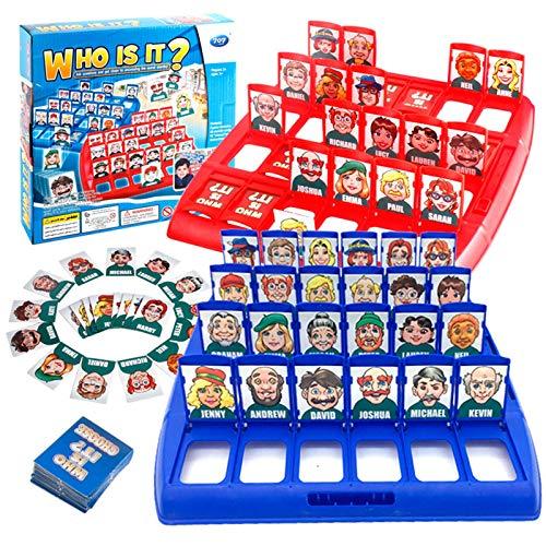 Vem är det barnsspel - Gissa Identity Strategy Board Leksaker Game för pojkar och tjejer,Blue