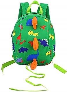 Toddler Kids Dinosaur Backpack Book Bags Safety Leash for Boys Girls 2-5 Year Old Little Kids Toddler Backpack Dinosaur Shaped Shoulder Satchel