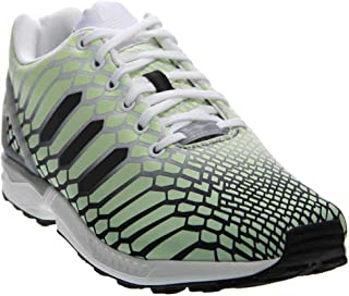 ZX Flux, Footwear White/Core Black/Lgsogr, 10