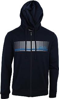 BOSS Hommes Authentic Jacket H Veste d'intérieur en Molleton à Logo thermocollé