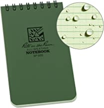 Rite in the Rain Weatherproof Top-Spiral Notebook, 3