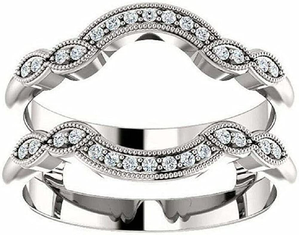 Ismatara Round Cut White Diamond in 14K Silver Oakland Max 45% OFF Mall Sterling 925 Gold