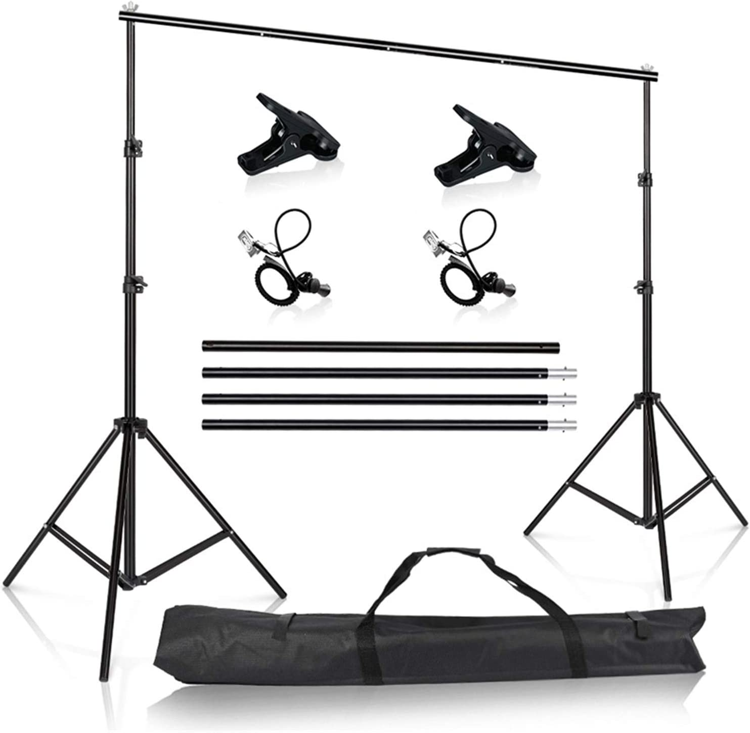 Zhice Photography Studio Photo Video Backdrop Tall B Recommended NEW before selling Frame Stand