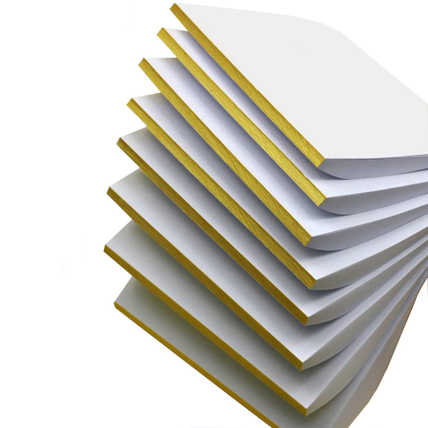 400 Sheets 8 Pads Liwute Multi-purpose Blank Writing Pads-Note Pads - Memo Pads - Scratch Pads (26x18cm), It is a Good Helper for Your Life, Work and Study