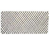 Nature by Kolibri - 5 tralicci in legno, per tralicci, recinzione in salice, per la privacy, variabile fino a 180 x 90 cm