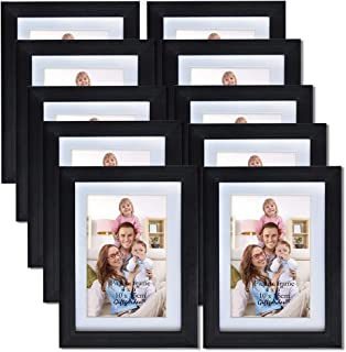 Giftgarden Friends 4x6 Picture Frame for Wall Decor Photo 6x4, Set 10 pcs