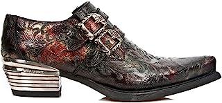 New Rock Hommes Chaussures en Cuir Dallas M.7960-S5