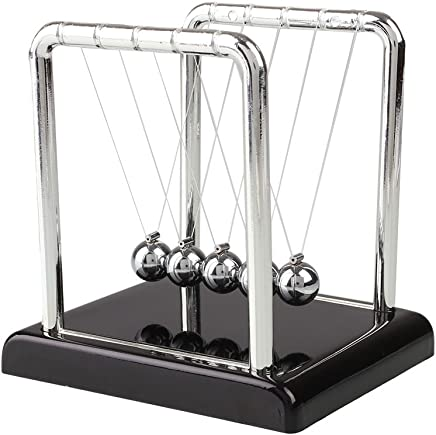 TOPmountain Newtons Cradle Small Desk Ornaments For Living Room Home Bedroom