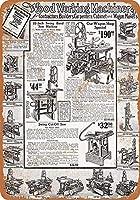 Sears Saws and Woodworking Machinery ティンサイン ポスター ン サイン プレート ブリキ看板 ホーム バーために