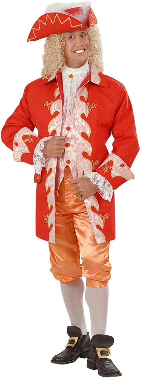 Partypackage Mens 18th Century French Royal Court Man Costume Fancy Dress Medium
