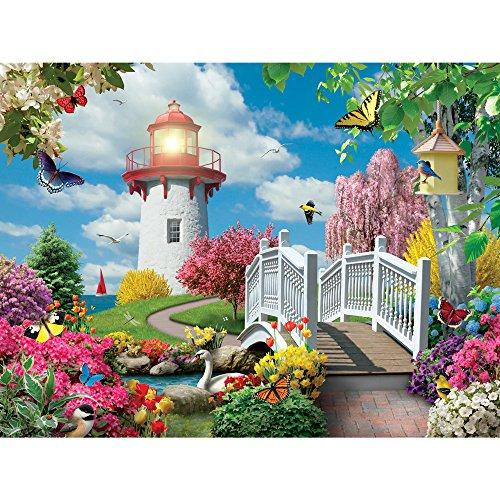 Bits and Pieces 300 Stück Puzzle für Erwachsene Frühling Licht 300 Pc Blumen, Vögel, Tiere Jigsaw by Artist Alan Giana