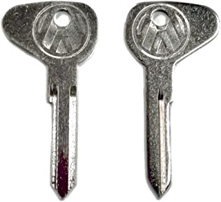 Pirate Mfg (2) Key Blanks, Profile M, Classic Air-Cooled Bug 1971-1979