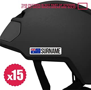 bike stickers name 15x mini bicycle frame sticker decal helmet custom flag personalized 80mm australia spoke tandem crank bmx steering
