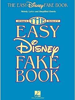 Hal Leonard The Easy Disney Fake Book - 100 Songs In The Key Of C