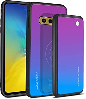 Bestgay Battery Case for Samsung Galaxy S10e, Portable Protective Charging Case Extended Rechargeable Battery Pack Charger Case Compatible with Samsung Galaxy S10e,Blue