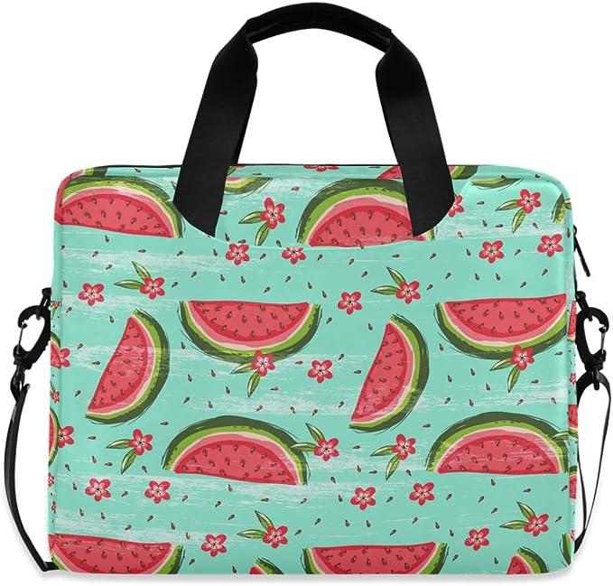 Watermelon Blue Waterproof Laptop Case Messenger Bag with ...