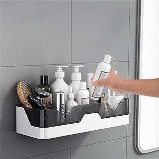 Etagère de salle de bain Étagère de salle de bain Étanche murale Plastique de rangement en plastique de rangement de douch...