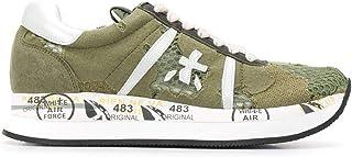 Luxury Fashion | Premiata Women CONNY4621 Green Fabric Sneakers | Spring-summer 20