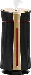 Lyeiaa Humidificadores de 1100 ml para el difusor de la habitación Humidificador Difusores silenciosos de aceites Esenciales para aromaterapia con 8 Luces