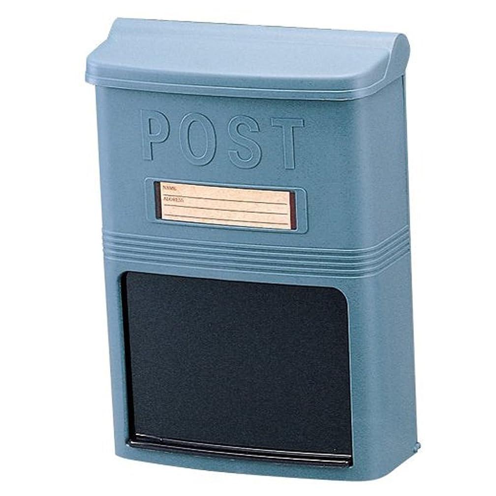 扱いやすい非難ホステルアイリスオーヤマ 郵便ポスト ネット通販ボックス 青銅色 PH-380N