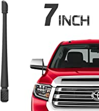 Rydonair Antenna Compatible with Toyota Tundra 2000-2020 | 7 inches Flexible Rubber Antenna Replacement | Designed for Optimized FM/AM Reception