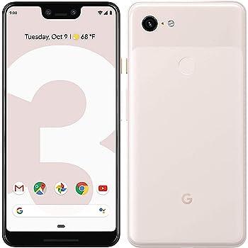 Pixel Phone 3 XL by Google 128GB, Fully Unlocked - Not Pink - (Renewed)