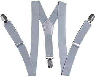 Kids Baby Elastic Adjustable Suspenders - Solid or Stripe Color Available in 3 sizes AWAYTR logo