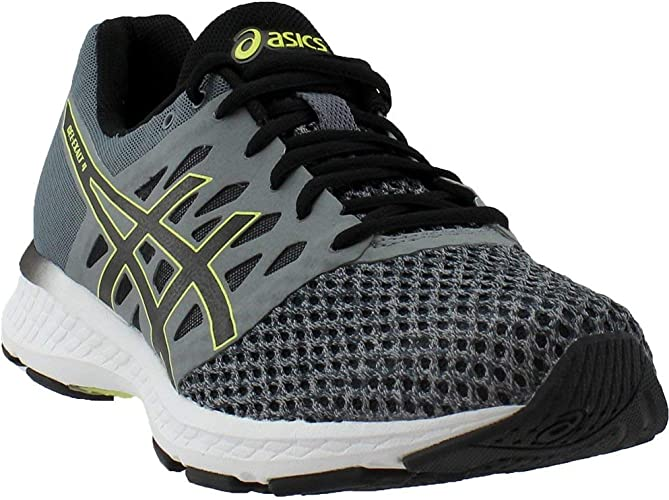 ASICS Pour des hommes Gel-Exalt 4 FonctionneHommest chaussures, Stone gris noir Lime, 8 D(M) US