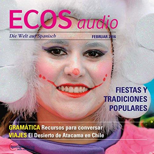 ECOS audio - Fiestas y tradiciones populares. 2/2016 audiobook cover art