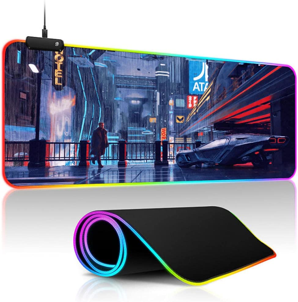 Mouse Pads Punk Kansas City Mall Outlet sale feature era Games RGB Gaming Pad Gamer Computer Pa