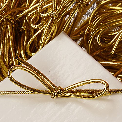22' GOLD STRETCH LOOPS (PACKAGE)