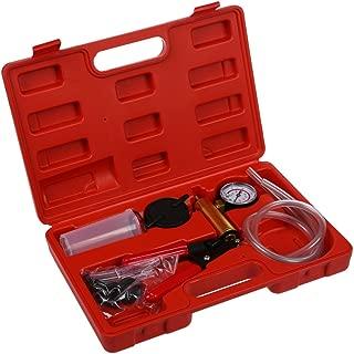 120 ml vidaXL Vakuumpumpe Bremsfl/üssigkeit Entl/üfter Bremsenentl/üfter Unterdruckpumpe Vakuum PKW Pumpe Vakuumtester Set 0-76cm hg Ca