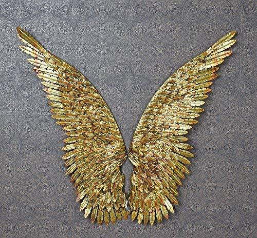 2 XXL Engelsflügel Wanddeko Engel Wandhänger Wandskulptur Flügel 100cm aja172 Palazzo Exklusiv