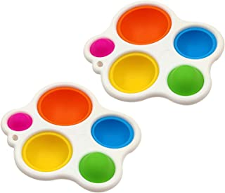 Ashudan Baby Sensory Simple Dimple Toys & Gifts for Babies and Toddlers Ages 10 Months and Up,Multiple Colors