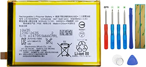 Swark Battery LIS1605ERPC Compatible with Sony Xperia Z5 Premium Dual / E6853 / E6883 with Tools