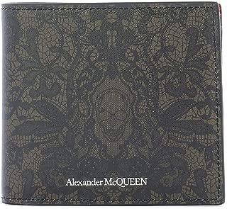 Luxury Fashion   Alexander Mcqueen Mens 55084504YEN1050 Grey Wallet   Fall Winter 19