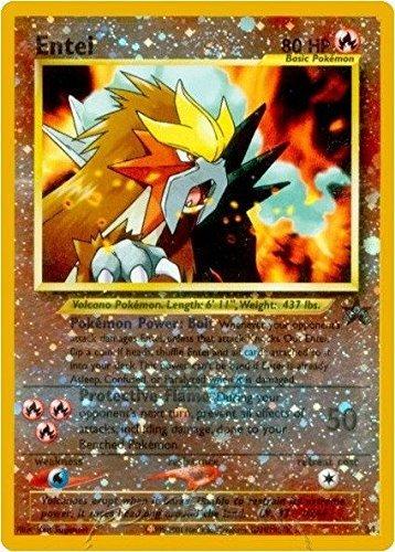 Pokemon - Entei (34) - Wizards Black Star Promos - Holo