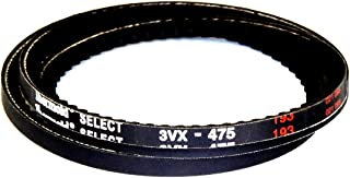 HBD/Thermoid 3VX475 Maxipower Cogged Belt, Rubber