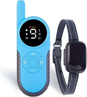Small Dog Remote Collar with Improved & Humane Training Modes and 800m Range - for Small and Medium Dogs