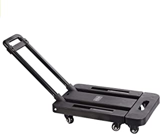 Hand Truck Folding Trolley 440lbs Wheel Dolly Maximum Moving Luggage Adjustable