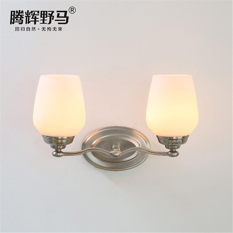 StiefelU LED Wandleuchte nach oben und unten Wandleuchten Dorf Wandleuchte Schlafzimmer Einzelbett Glas Wandleuchte