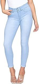 YMI Juniors' Wanna Betta Butt High-Rise Denim Ankle Jeans