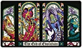 Stained Glass Lords of The Hive Playmat Inked Gaming TCG Game Mat for Cards (13+)