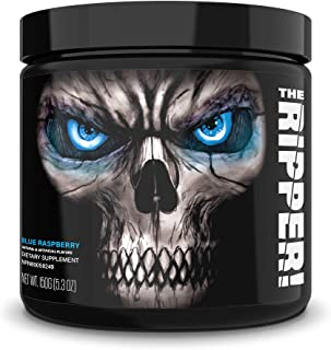 JNX Sports The Ripper! Fat Burner Dietary Supplement with Super Thermogenesis, Appetite Control & Extreme Energy, Men & Women | Blue Raspberry | 30 SRV