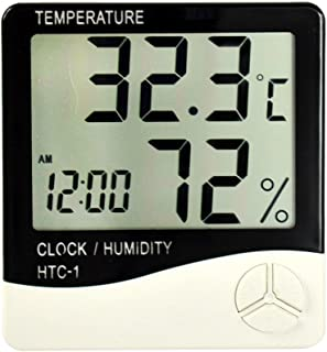 Inomhus digital termometer hygrometer och fuktighetsmätare rum termometer hygrometer exakt hygrometer rum termometer mätar...