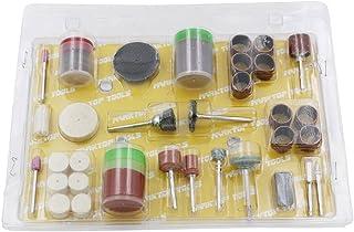 Yihaifu 105Pc Set Kit Convient Fits Kit pour Les joailliers Jewellers Artisanat Outil Rotatif Accessoires Set