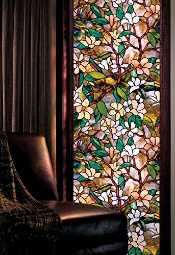 Artscape Fensterfolie, 61 x 92 cm (24 x 36 Zoll), Magnolien