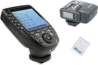 Godox Xpro-N 2.4G TTL Wireless Flash Trigger Transmitter with Godox X1R-N Receiver for Nikon Cameras 1/8000s HSS High Speed Sync