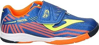 Joma Tactil Niño (Velcro), Zapatilla de fútbol Sala, Blue-