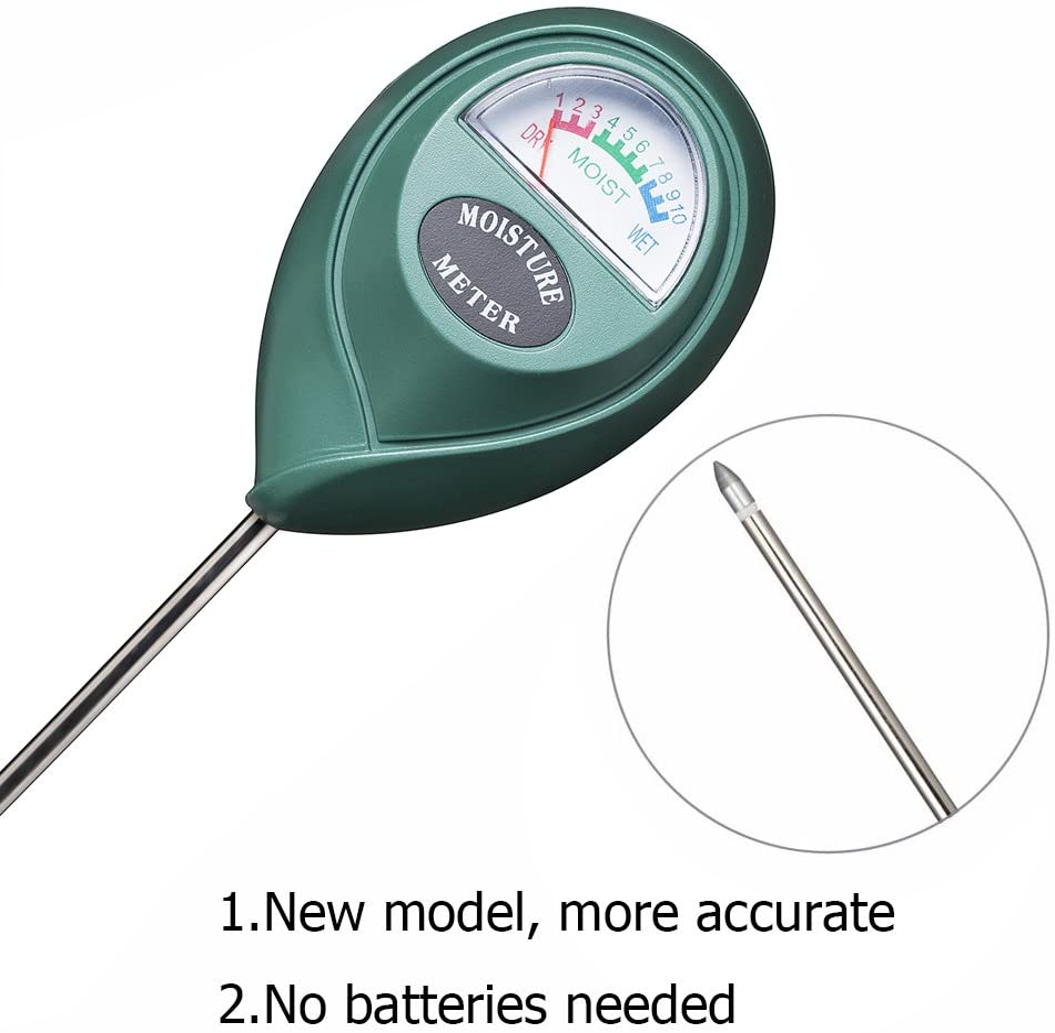 Closer look of the XLUX Moisture Meter